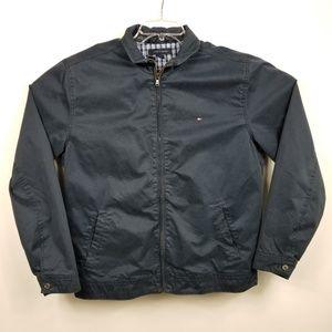 Tommy Hilfiger Mens Harrington Jacket Sz L Large